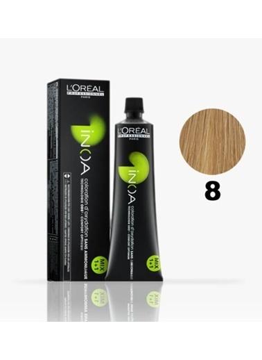 Inoa No:8 Saç Boyası 60 Gr Sarı
